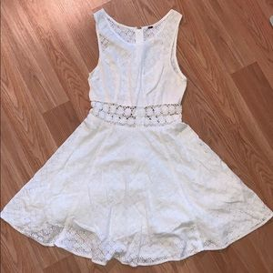 Free People lace skater dress